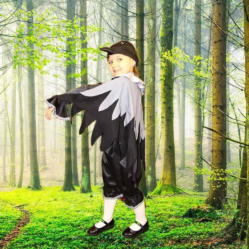 Фото костюма вороны своими руками 786